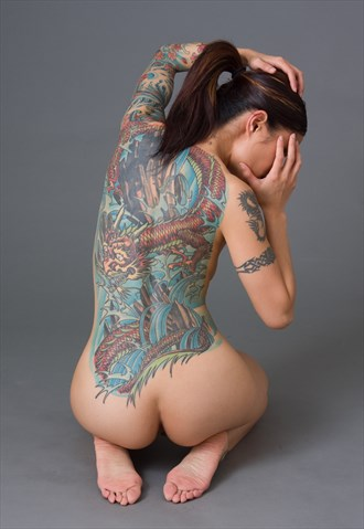 Tattoo Artistic Nude Photo by Photographer Jackkeg