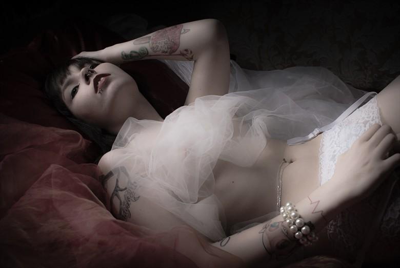 Tattooed Beauty Lingerie Photo by Photographer JohnB