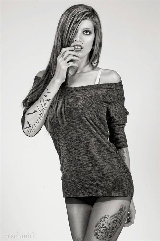 Tattoos Alternative Model Photo by Model Merrill White