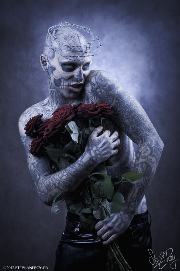Tattoos Alternative Model Photo by Photographer Stephane Roy