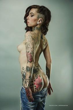 Tattoos Erotic Photo by Photographer Jo Zapf