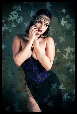 Tattoos Fantasy Photo by Model Irene Savona