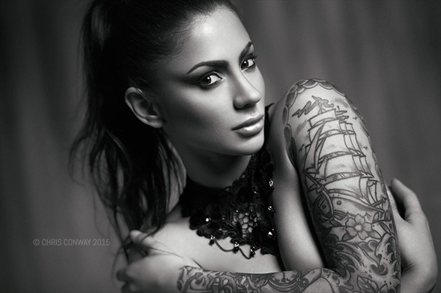 Tattoos Glamour Photo by Photographer Chris Conway