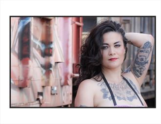 Tattoos Glamour Photo by Photographer WolfMan Graphics