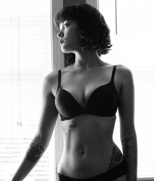Tattoos Lingerie Photo by Model Juno LTK