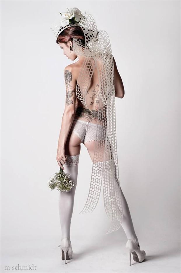Tattoos Lingerie Photo by Model Merrill White