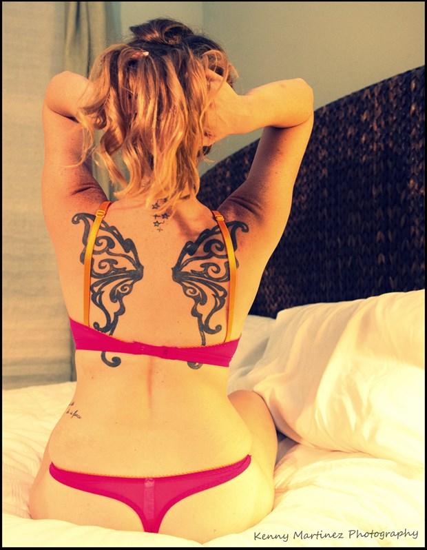 Tattoos Lingerie Photo by Model Sachea Nicole