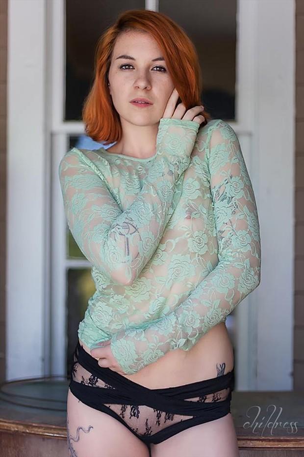 Tattoos Lingerie Photo by Model Story Sophia