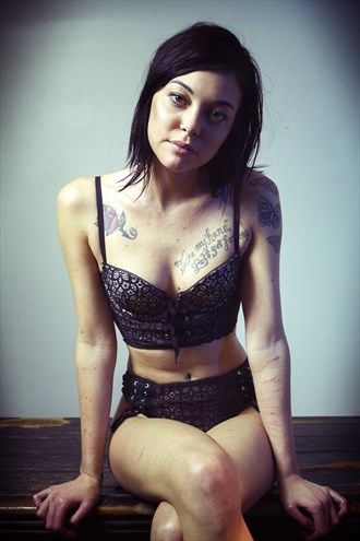 Tattoos Lingerie Photo by Photographer Dream Filter