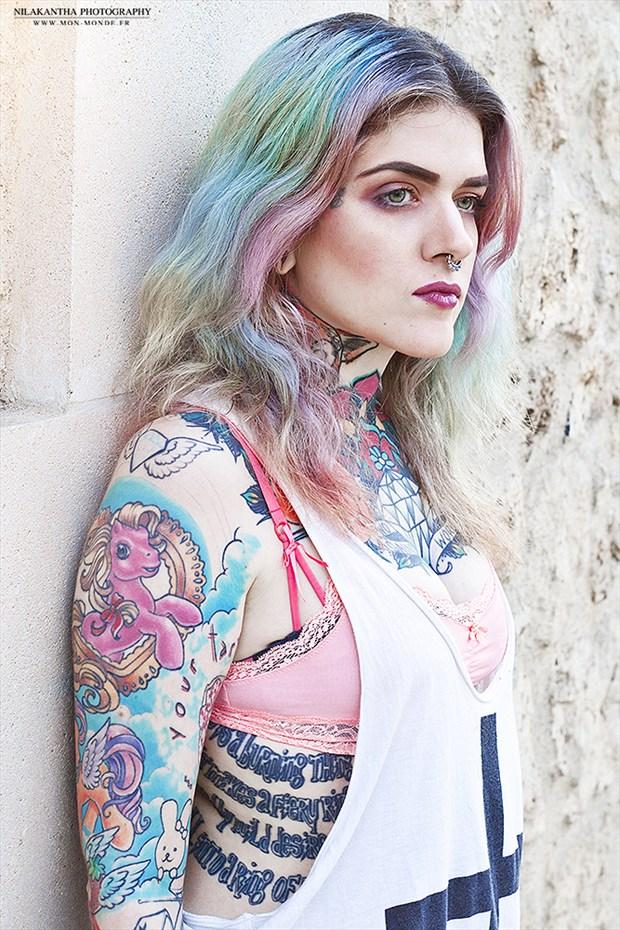 Tattoos Lingerie Photo by Photographer Nilakantha