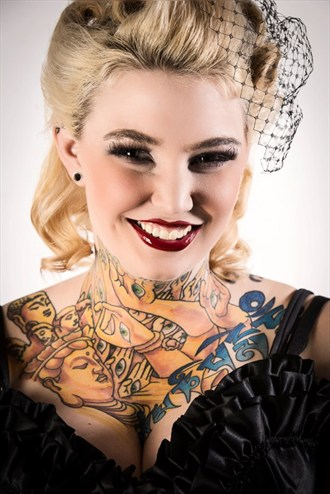Tattoos Pinup Photo by Model Riskay Business