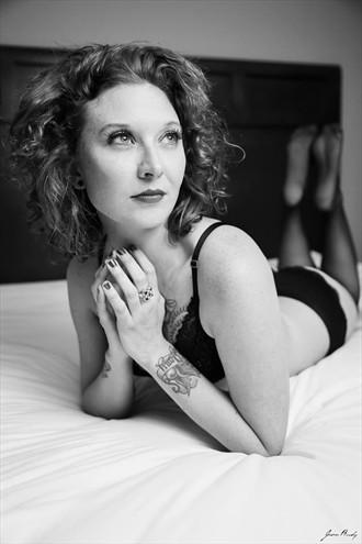 Tattoos Sensual Photo by Model Ann Arbor Mel