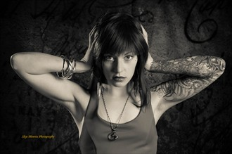 Tattoos Studio Lighting Photo by Photographer Skye Phoenix
