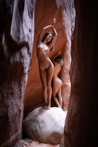 Temenos of the Feminine Divine Artistic Nude Photo by Photographer Randall Hobbet