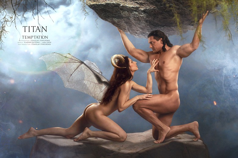 Temptation Artistic Nude Artwork by Artist Stanislav Star