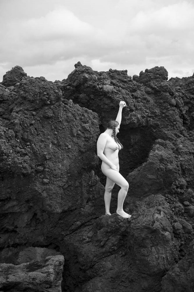 Terceira, Azores, Portugal 2016 by JohnRyba.com Artistic Nude Photo by Model Ashley Indigo