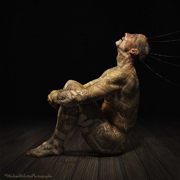 Thanatophobia Artistic Nude Photo by Photographer Michael Bilotta