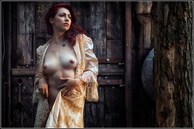 The Abandoned Artistic Nude Photo by Model Arielita