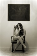 The Artist Artistic Nude Photo by Photographer Frisson Art