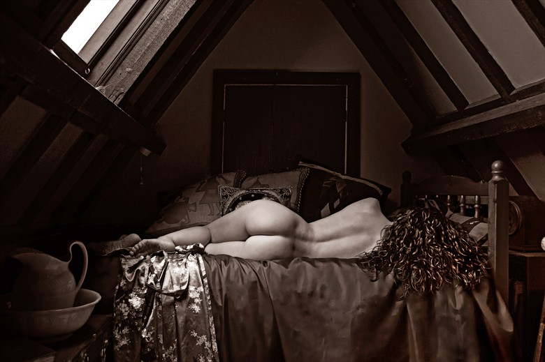 The Attic Artistic Nude Photo by Photographer Ray Kirby