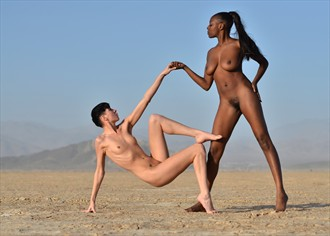 The Beautiful Dance Artistic Nude Photo by Photographer Alan H Bruce