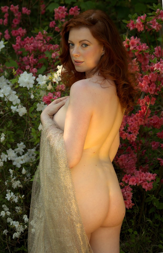 The Beauty of Spring Artistic Nude Photo by Photographer Fred Scholpp Photo