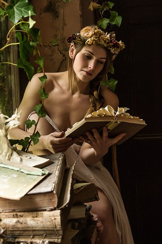 The Bookworm Natural Light Photo by Photographer Kestrel