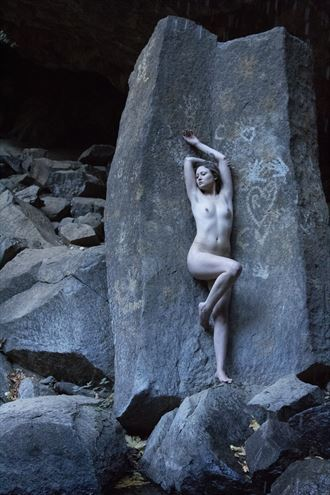 The Butterfinger Effect Artistic Nude Photo by Model Ember No%C3%ABlle