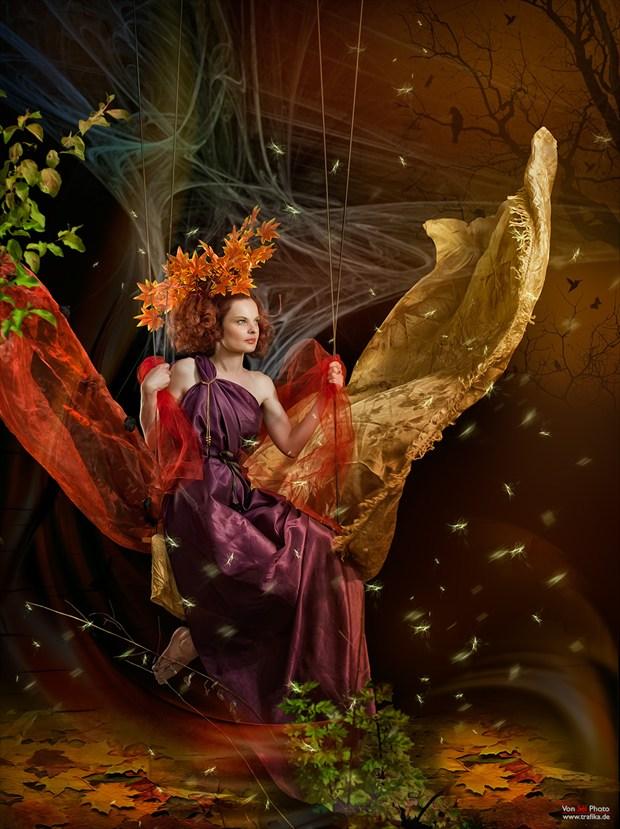 The Calm One Fantasy Artwork by Photographer Von Sel Photo