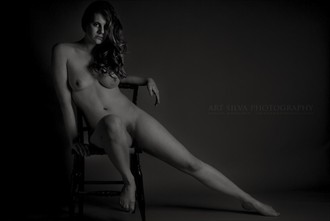 The Chair Artistic Nude Photo by Model Katja Gee