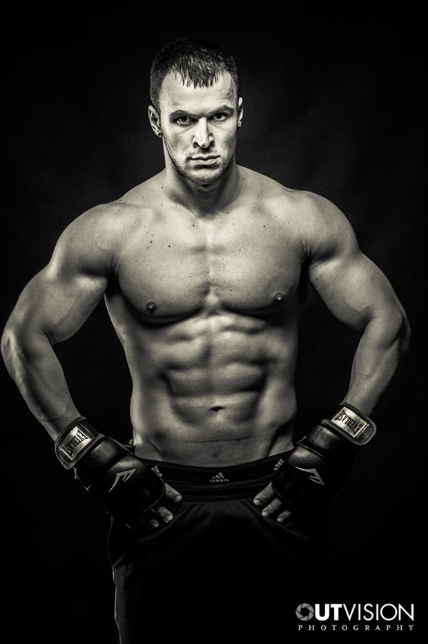 The Champion Studio Lighting Photo by Photographer OutVision