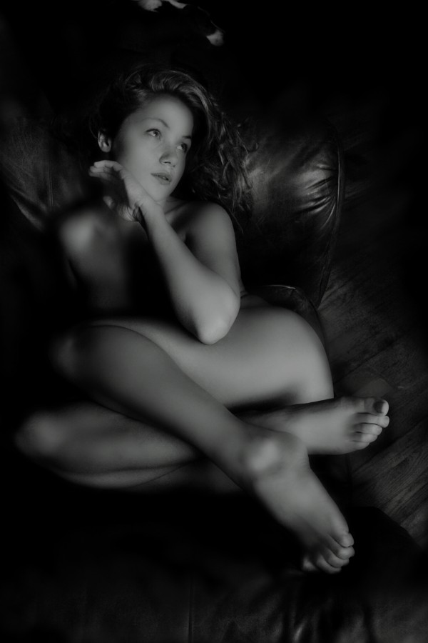 The Club Chair %235 Artistic Nude Photo by Photographer Beau