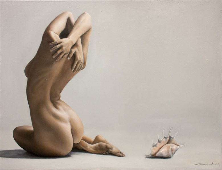 The Conch Artistic Nude Artwork by Artist jpleclercq