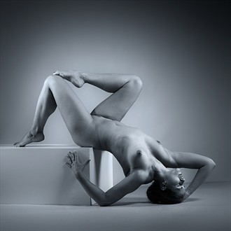 The Cube 02 Artistic Nude Photo by Model Diana