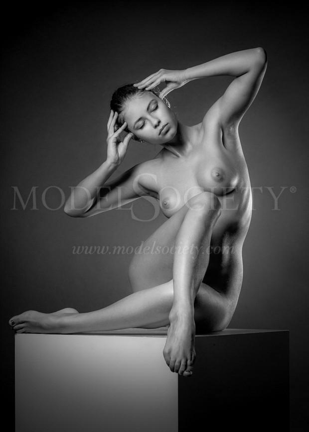 The Cube Artistic Nude Photo by Photographer Andrey Stanko