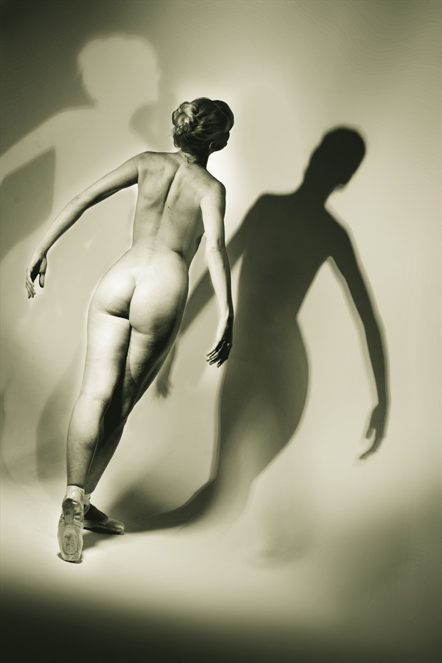 The Dancer, Shadows, and other Thoughts Artistic Nude Photo by Photographer Mark Bigelow