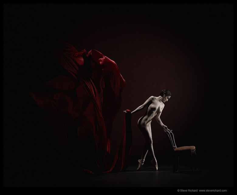 The Dark Ballet 1 Artistic Nude Photo by Photographer Steve Richard