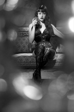 The Dark Corset Lingerie Photo by Photographer Dexellery Photo