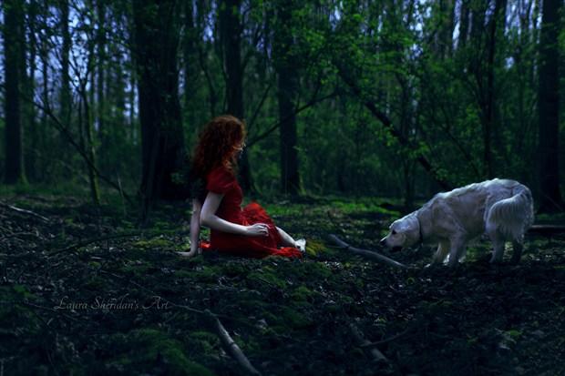 The Dark Forest Fantasy Artwork by Photographer Laura Sheridan's Art