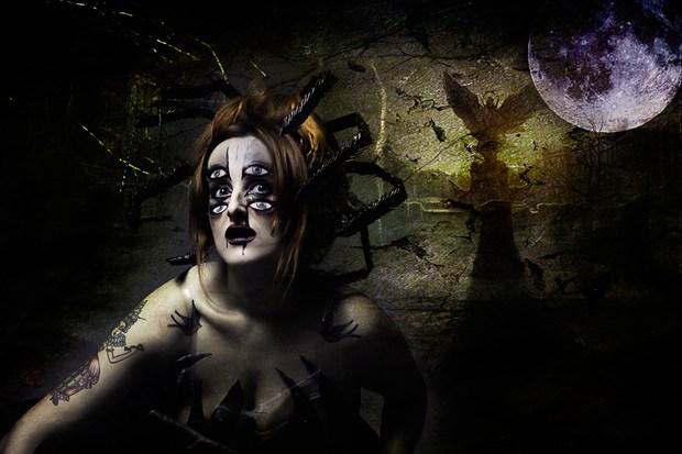 The Dark side Abstract Artwork by Artist Gianluca Festinese