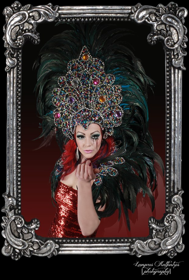 The DragQueen Vintage Style Photo by Artist 3ddream