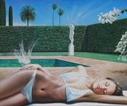 The Dreamers Bikini Artwork by Artist Brett Moffatt