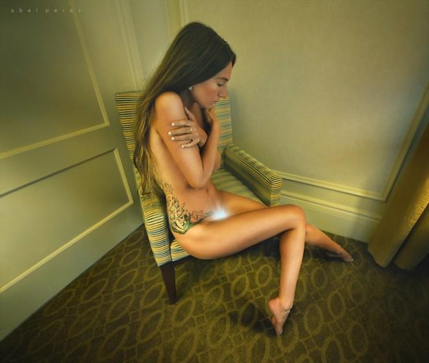 The Edge Artistic Nude Photo by Photographer Mindplex