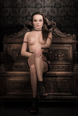 The Empress on her Throne Artistic Nude Photo by Photographer MartinH