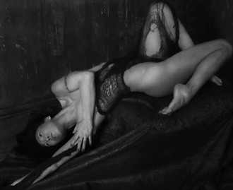 The End of Time Erotic Artwork by Model Ree Ja