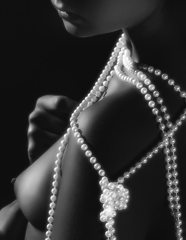 The Essence of Pearls Artistic Nude Photo by Photographer MSlygh