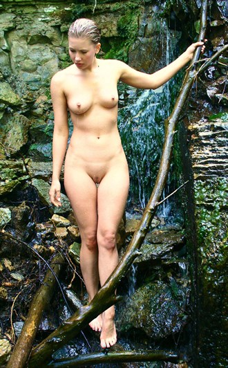 The Falls Artistic Nude Photo by Photographer Brett Roeller