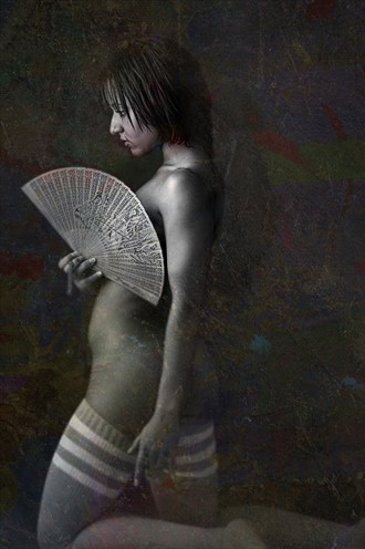 The Fan Artistic Nude Photo by Photographer jcphotoz