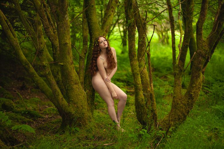 The Flower Girl Artistic Nude Photo by Photographer Muse Evolution Photography