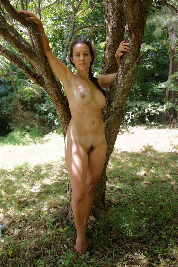 The Forest Nymph Artistic Nude Photo by Photographer Fred Scholpp Photo